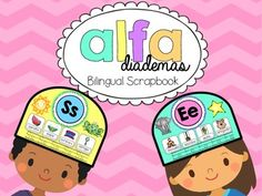 This is a fun way for your kiddos to review their letters and sounds. What's included?A headband for every letter in the Spanish alphabet where your kids will draw and label things that begin with each letter, and trace the letters too. I hope you love these activities :)