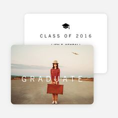 Go 'classy' with these modern and eco-friendly graduation announcements. Make a lasting impression with these keepsake graduation cards. Plus, every order plants a tree so both Mother and Mother Nature will be proud.
