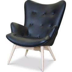 featherston chair -in leather approx $1000