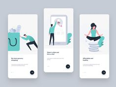 Onboarding screen for Chef app illustration ui vector character design clean creative walkthrough welcome design chef onboarding Mobile App Design, Mobile App Ui, App Ui Design, User Interface Design, Flat Design, Design Design, Design Ideas, Vector Character, Character Design