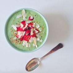 Regnbueskål + grøn smoothie