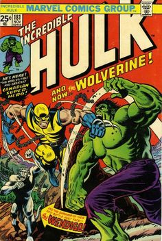 The Incredible Hulk #181 - 1st Full Appearance of Wolverine