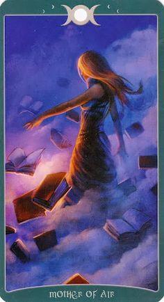 Hiểu Lá Mother of Air - Book of Shadows Tarot (As Above) bài tarot Xem thêm tại http://tarot.vn/la-mother-air-book-shadows-tarot/