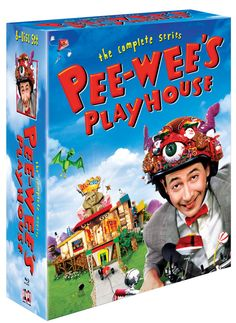 The classic television show Pee-wee's Playhouse is now available on DVD and on Blu-ray thanks to Shout! The show starred Paul Reubens as Pee-wee Phil Hartman, Pee Wee's Playhouse, Paul Reubens, Pee Wee Herman, Blu Ray Collection, Comedy Tv, Tv Guide, Play Houses, Boy Or Girl