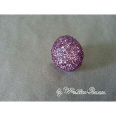 Pink and violent glitter gloss vision ring.  Price 13,00