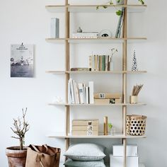 Skagerak DO Shelf System - 6 Shelves. The DO Shelf is more than storage. Made of untreated oak and melamine, DO can stand on its own in a room to partition your home interior, or be placed against a wall like a traditional shelf system.