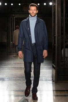 London Men's Collection: Hacket London - Fall 2014
