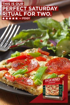 Sometimes you need a date night where you don't have leave the house. With premium toppings and real cheese, Pizzeria! Thin makes a great dinner for a fun night at home.