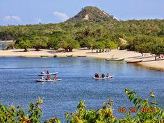 Alter do Chão, em setembro de 2013. Ainda se via a cor natural do rio. E agora, turismo?