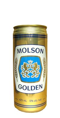 Molson Golden - I remember my parents having this in the house and the TV ads