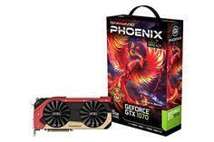 Gainward 426018336-3682 Phoenix Golden Sample GeForce GTX 1070 Grafikkarte