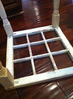 The best DIY projects & DIY ideas and tutorials: sewing, paper craft, DIY. DIY Furniture Plans & Tutorials : window to coffee table -Read Refurbished Furniture, Repurposed Furniture, Furniture Makeover, Painted Furniture, Repurposed Shutters, Chair Makeover, Industrial Furniture, Furniture Projects, Home Projects
