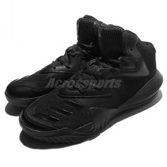 4134a0ad250  50% Off  adidas Crazy Team 2017 Triple Black Basketball Shoes Sneakers  BB8255