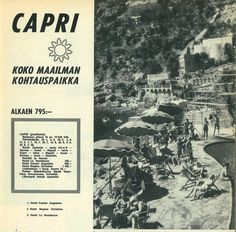 Capri, koko maailman kohtauspaikka 60-luvulla