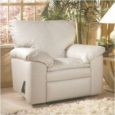 Omnia Leather El Dorado Lift Chair with Recline Upholstery: Softsations Winter White
