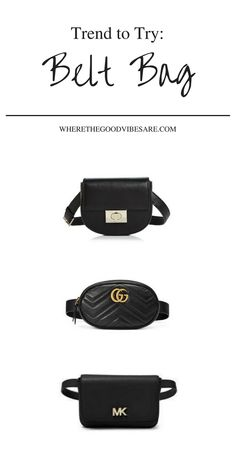 Where The Good Vibes Are | fashion trends, belt bag, bag, street style, fashion, style