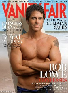 Rob Lowe...because yesterday I found out he used to preform at the Williamstown Theater Festival! Rob please come back to the Berkshires!