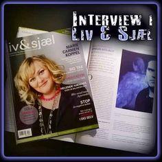 Jeg interviewes om spøgelser i det nye nummer af LIV & SJÆL.