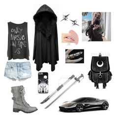 """""""The Winter Wolf"""" by alexaluc13 ❤ liked on Polyvore featuring Tessa Packard, Aston Martin, H&M, Wite and Junk Food Clothing"""