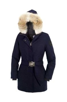 Canada Goose Outlet Women Livigno Parka Black With Top Quality -