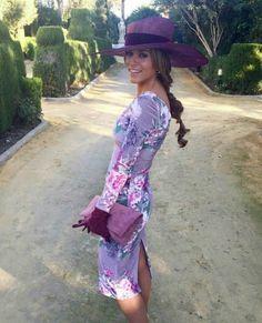 @invitadasconestilo Vestido estampado y maxi Pamela