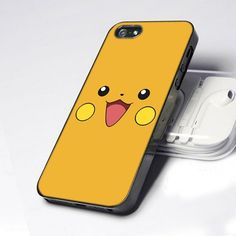 CDP 0013 Cute Funny Pokemon Pikachu Face design for iPhone 5 case