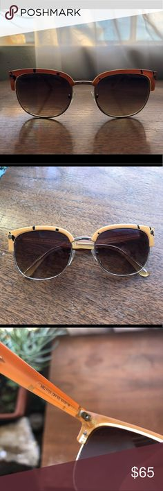 Marc by Marc Jacobs Sunglasses 100% Authentic. Great quality, lightly used. One of the most comfortable glasses I've ever had.  Does not come with original case, but one will be provided with sale. Marc By Marc Jacobs Accessories Sunglasses