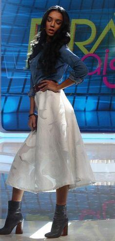 Waist Skirt, Midi Skirt, High Waisted Skirt, Skirts, Outfits, Fashion, Moda, Midi Skirts, Skirt