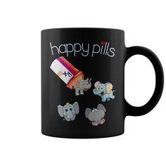 HAPPY PILLS - HAPPY PILLS  #elephants #elephantshirts #iloveelephants # tshirts