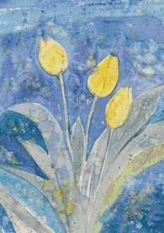 Yellow Tulips PDF Cross Stitch Pattern by XSquaredCrossStitch, $3.00