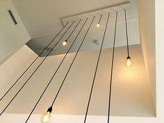 Maatwerk Lampen – Entrance Lighting, Entrance Ways, New Homes, Stairs, Chandelier, Indoor, Ceiling Lights, Interior Design, Globes