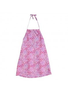 Sweet pink and floral shift dress for little girls from @poupettealaplage #pnapproved