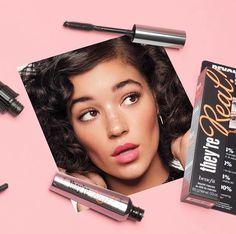Benefit Mascara, Lipstick, Hair, Beauty, Lipsticks, Beauty Illustration, Strengthen Hair