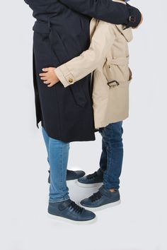 There's nothing like a good hug to make your day a little brighter. What do you think of subtle yet chic way I matched with my son? Best Hug, Get Dressed, Have Fun, Twins, Slip On, Navy, Chic, How To Make