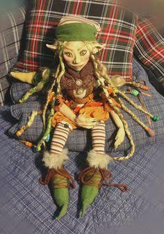 Duende de Octubre Zelda, Fictional Characters, Art, Elves, Fantasy Characters, October, Woods, Hand Made, Art Background
