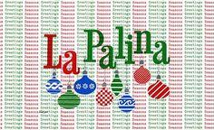 Type pattern: design by Paul Rand, 1957. Christmas    via @thinkstudionyc