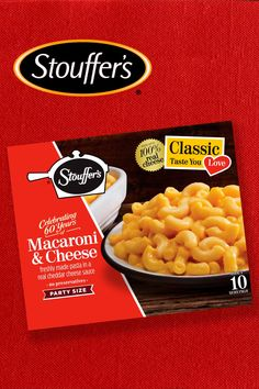 Dig into summer's favorite side dish with Stouffer's Macaroni & Cheese. With real cheese and the classic taste you love, it's sure to be a delicious dish the whole family can enjoy! Macaroni Cheese, Mac And Cheese, Wine Recipes, Snack Recipes, Snacks, Tasty Dishes, Side Dishes, Cheddar Cheese Sauce, Summer Picnic