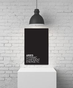 ARIES STAR SIGN Canvases