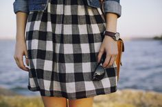 plaid by the sea - this just gives off a lovely feeling
