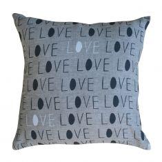 Love square cushion cover