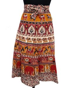 Ibaexports 100% Cotton Cover Up Wrap Skirt Around « Clothing Impulse