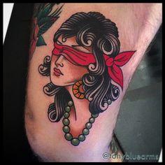 Tony Nilsson as featured on www.swallowsndaggers.com #tattoo #tattoos