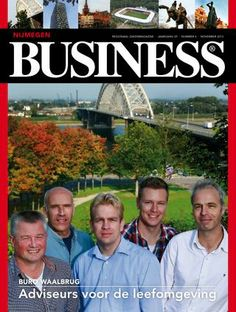 Opmaak Nijmegen Business - november editie 2013 - www.nijmegen-business.nl