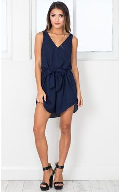 Field Day playsuit in navy