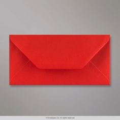 110x220 mm (DL) Makovo-červená obálka