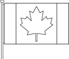 nice Canada Flag Coloring Pages SelfColoringPages Check more at http ...