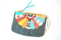Dresden Coin Purse made for verykerryberry by During Quiet Time (Amy), via Flickr