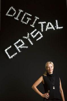 Nadja Swarovski at #DigitalCrystal: Swarovski at the Design Museum