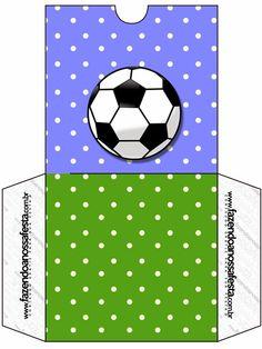 Fútbol: Imprimibles Gratuitos para Fiestas.