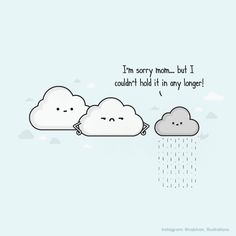 hilarious illustration series When Nature Calls